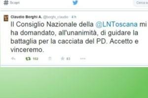 Claudio Borghi Aquilini candidato Lega Nord in Toscana