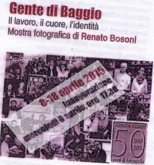 La Gente di Baggio parte l'8 aprile