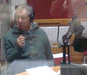 Umberto Bossi a Ossona per incontrare i leghisti