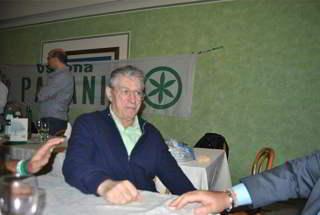 Umberto Bossi a Ossona