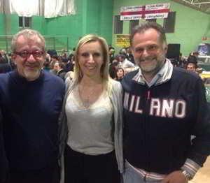 Amianto a Casorezzo. Arriva il No definitivo della Regione Lombardia (nella foto. roberto Maroni, Claudia Terzi, Massimo Garvaglia