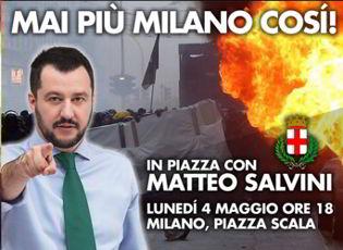 Milano Burning. La protesta sotto la finestra di Pisapia