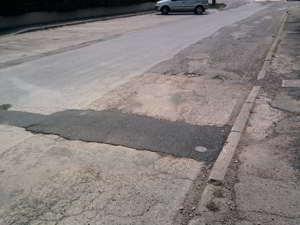 asfaltata la sorgente di ossona