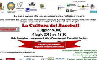 Una mostra, convegni e giochi sulla cultura del baseball a Cuggiono