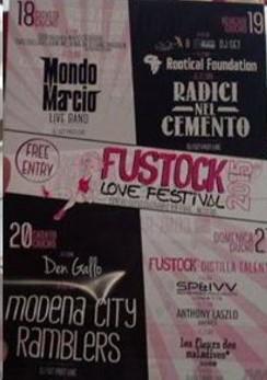 fustock 2015, il programma