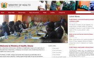 ministero salute ghana