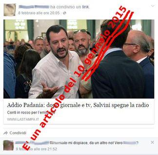lastampasocial Macchiavellico genio attacca Radio Padania libera e sbaglia la data Piazza Litta Prima Pagina