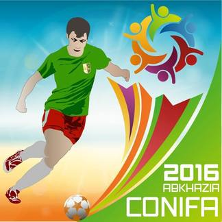 Abcasia, mondiali di calcio 2016