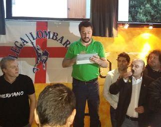 Nerviano Fornero Matteo Salvini