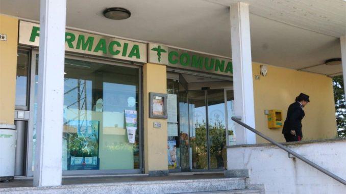 rapina alla farmacia comunale Magenta