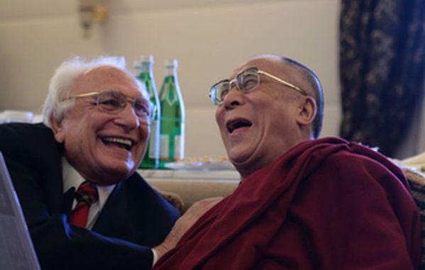 Marco Pannella e il dalai lama