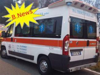ambulanzabnews1200 B news. Incidente stradale con la bicicletta ad Asmonte Piazza Litta (Ossona) Prima Pagina