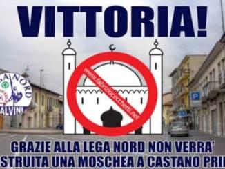 castano Niente più moschea a Castano Primo. Permessi annullati Politica Prima Pagina