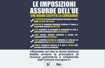 lombardexit-350x228 Unione europea. Dopo il Venexit ecco il Lombardexit. La Lombardia prepara il referendum Politica Prima Pagina
