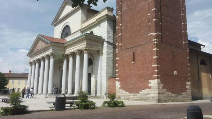 La chiesa del Miracolo di Corbetta con il battistero della chiesa antica