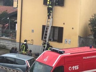 vgili-del-fuocoossona Incendio a Ossona per un elettrodomestico Piazza Litta Prima Pagina