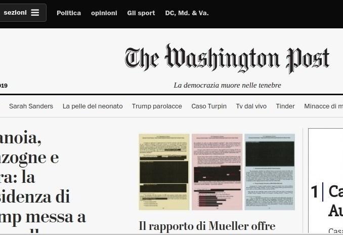 washingon-post Inizia guerra elettorale e la Giocondi cancella Co News da Sei di Magenta se... Politica