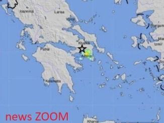 ATTICA-Grecia-ZOOM Grecia: terremoto 5.1 tele comunicazioni fuori uso, ad Persone in strada ad Atene Mondo