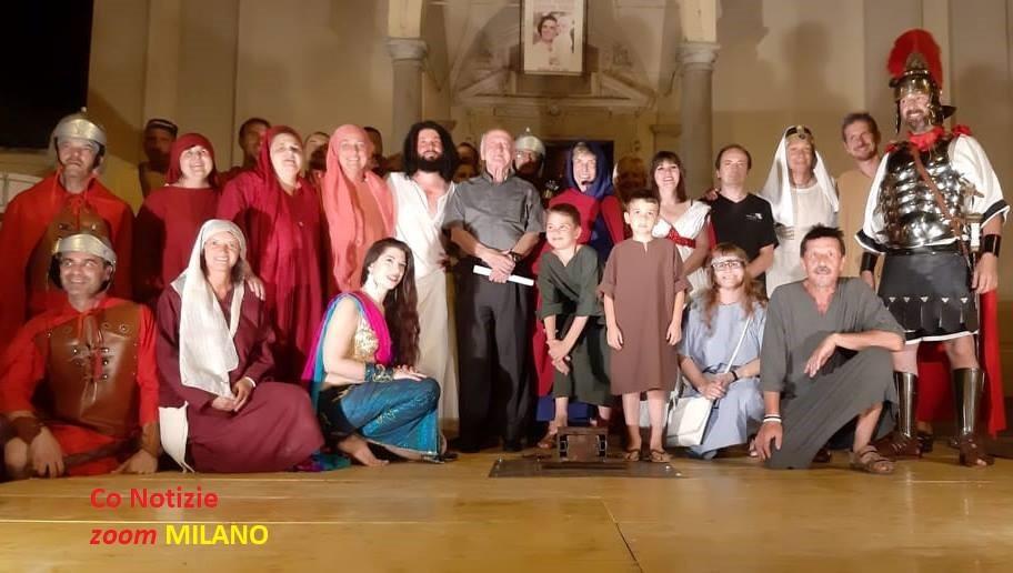 i-passionari Mesero festeggia monsignor Paolo Masperi Magentino