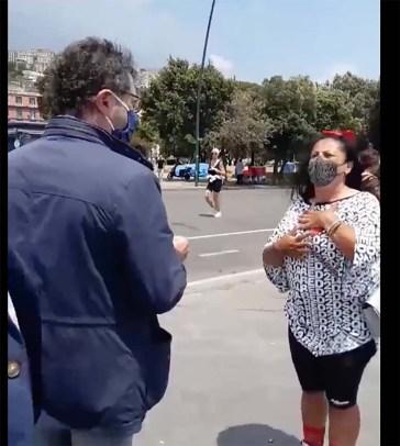 Napoli, incontro tra Borrelli e la tik toker Rita De Crescenzo
