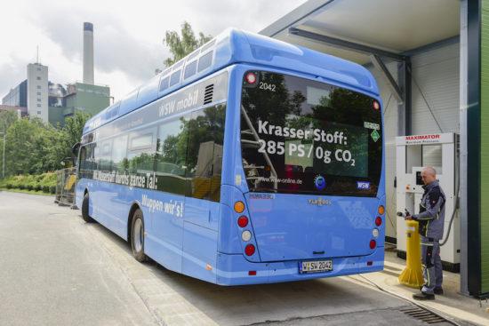 Wuppertal: Wasserstoff aus Müll herstellen und damit den Bus betanken