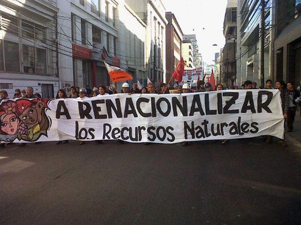 ESPECTACULAR 83% DE APOYO A LA NACIONALIZACIÓN DEL COBRE | Crónica Digital