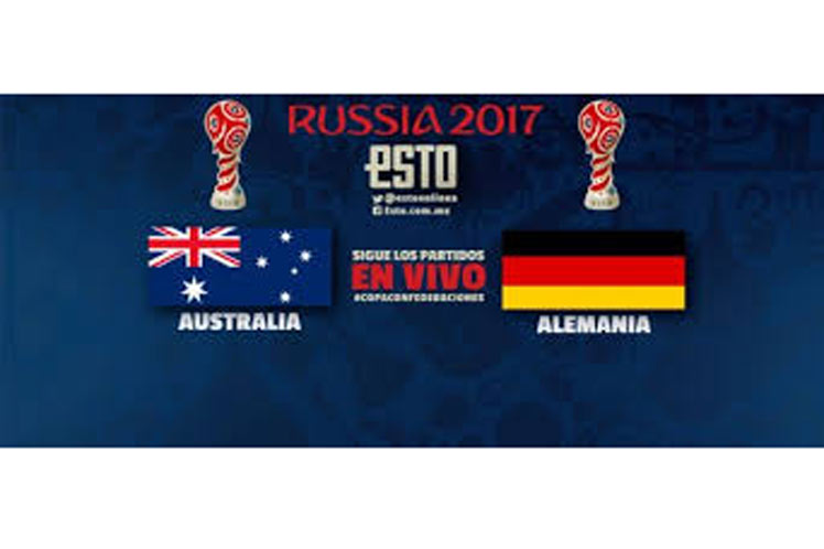 Alemania vence con apuros a Australia