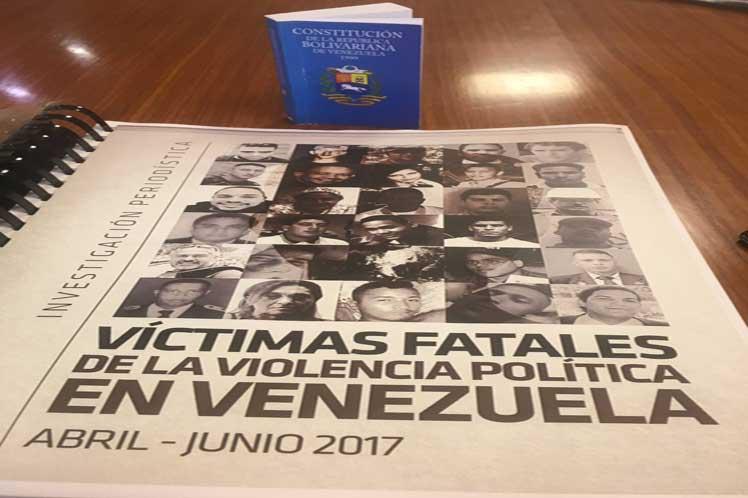 Unifican datos de víctimas por violencia en Venezuela
