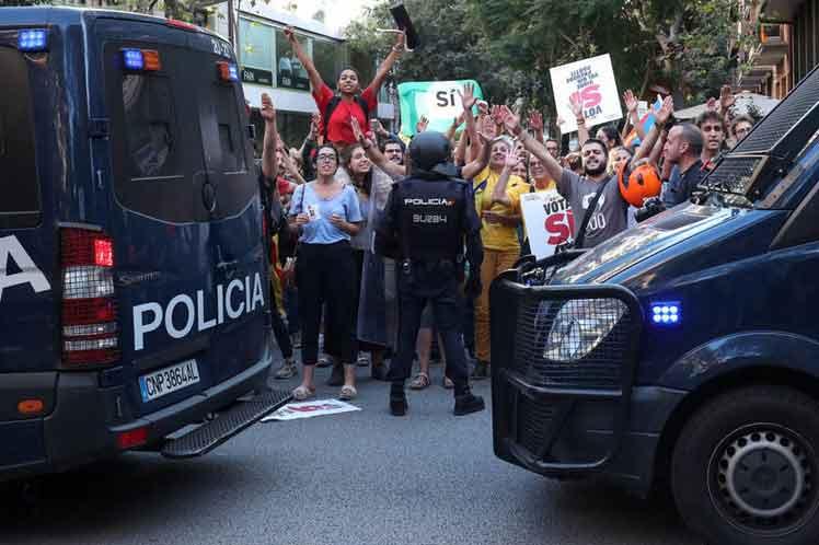 Huelga general y masiva marcha al Parlamento para pedir por la independencia