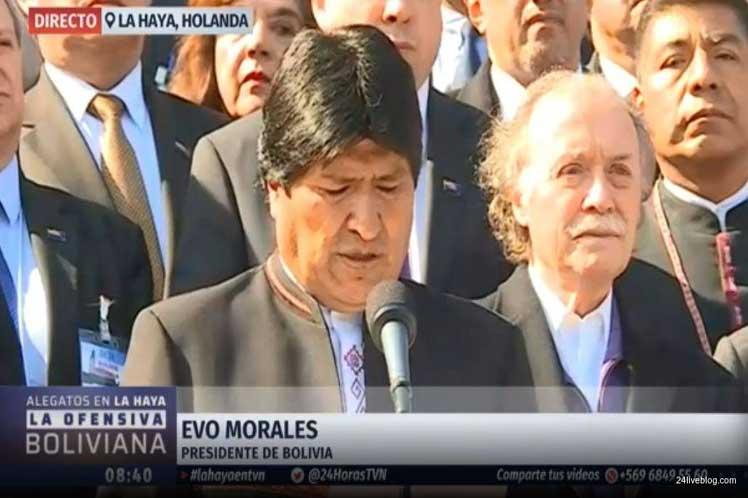 Evo Morales asegura que EEUU busca 'una intervención militar en Venezuela'