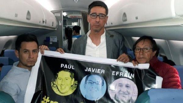La incertidumbre aún domina en caso de periodistas ecuatorianos