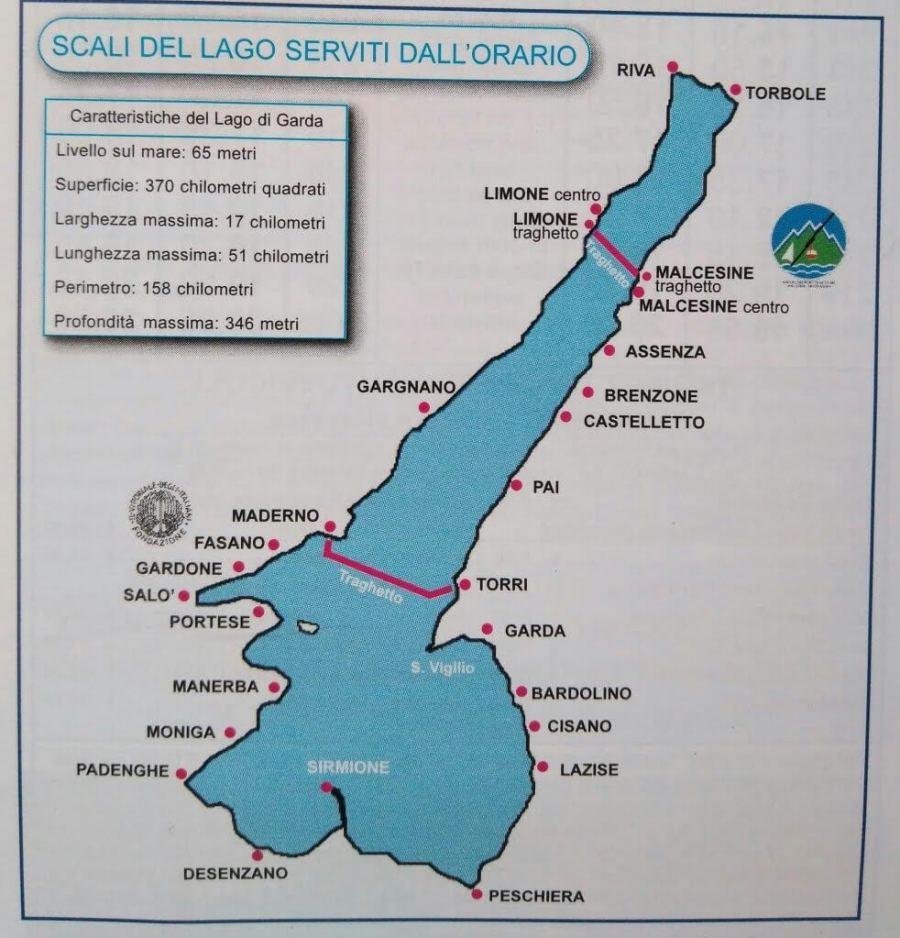 n día en el Lago di garda, Peschiera, Sirmione y Desenzano.
