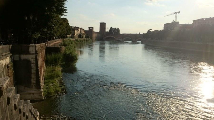 Ponte Scaligero . Que ver en Verona en un dia.