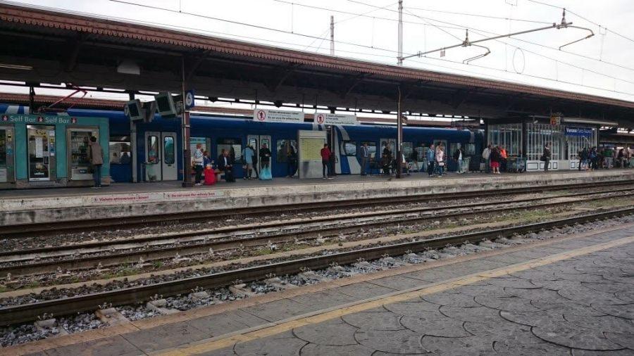 Estación de tren .Qué ver en Bolonia.