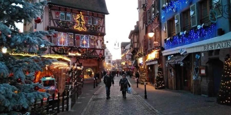 Mercados navideños Alsacia