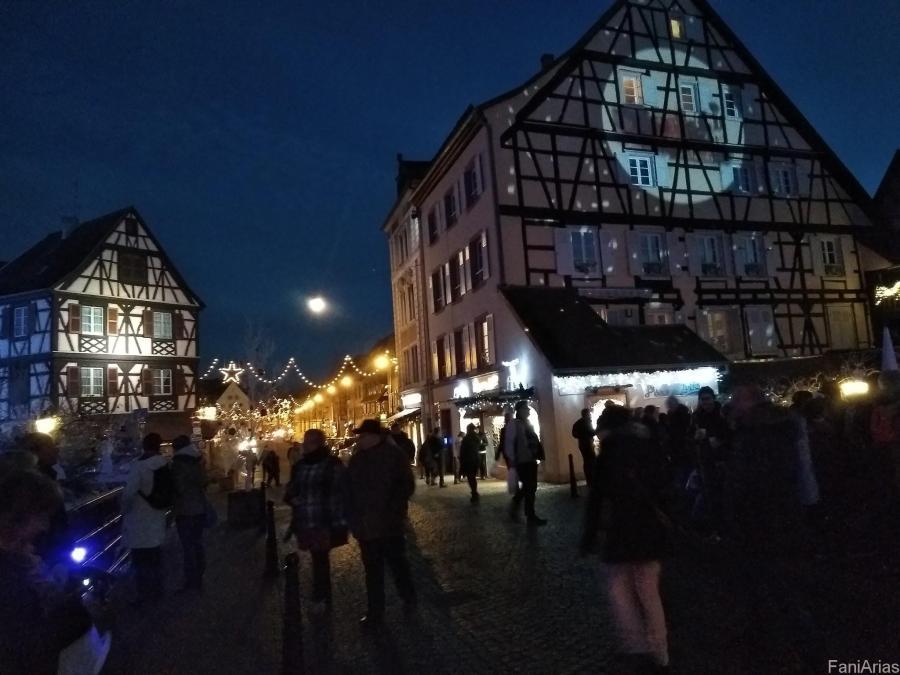 Visitar Colmar en Navidad. Alsacia, Francia.