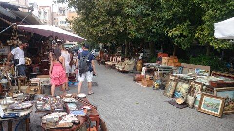 Mercado de las Pulgas.