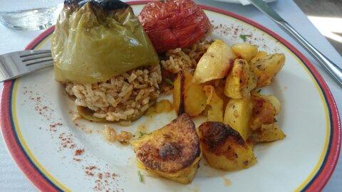 Comer y comprar en Atenas.