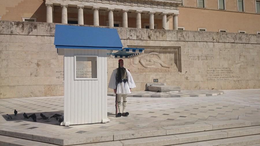 Playas de Atenas, Centro de Atenas y Pireo.Sintagma, Parlamento.
