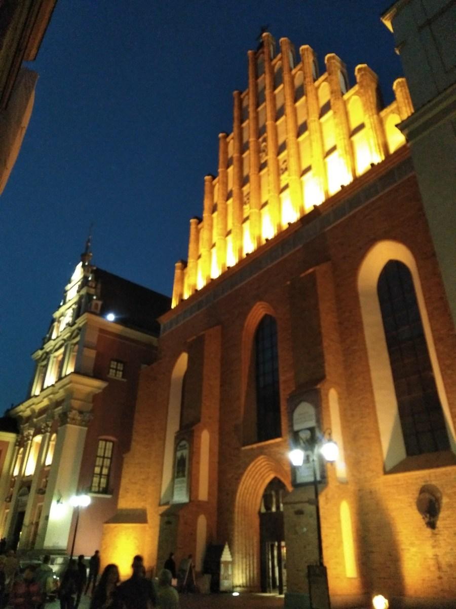 Qué ver en Varsovia. Varsovia de noche