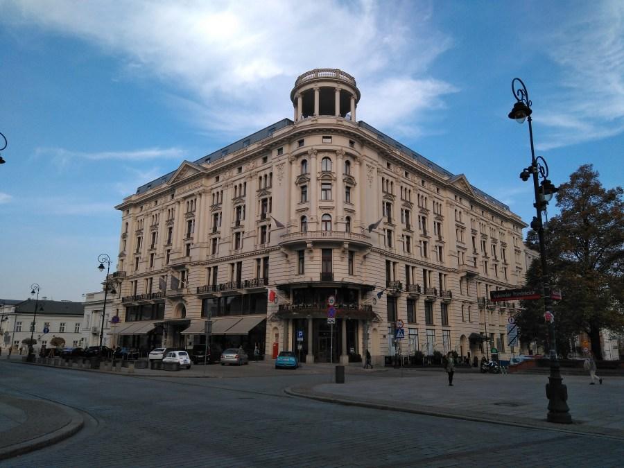 Qué ver en Varsovia en un día.Hotel Bristol. Centro histórico de Varsovia.