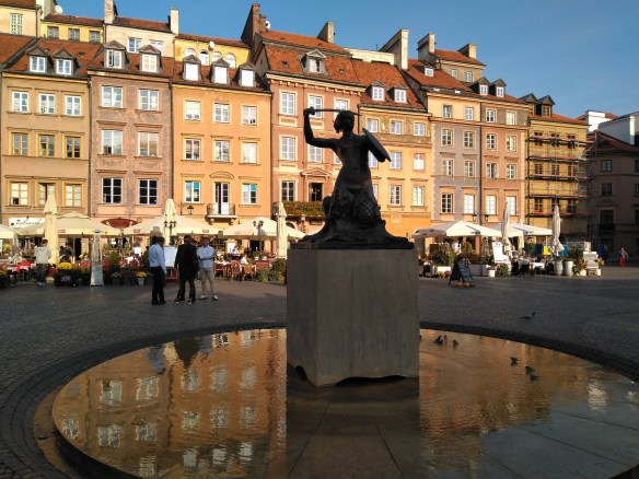 Plaza del Mercado. Centro histórico de Varsovia.