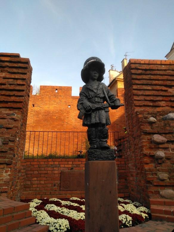 Qué ver en Varsovia en un día. Centro histórico. Pequeño Insurgente.