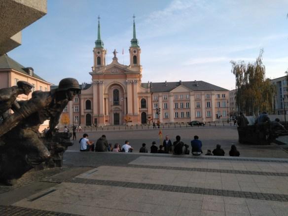 Monumento al Alzamiento. Catedral de Campo del ejército polaco.