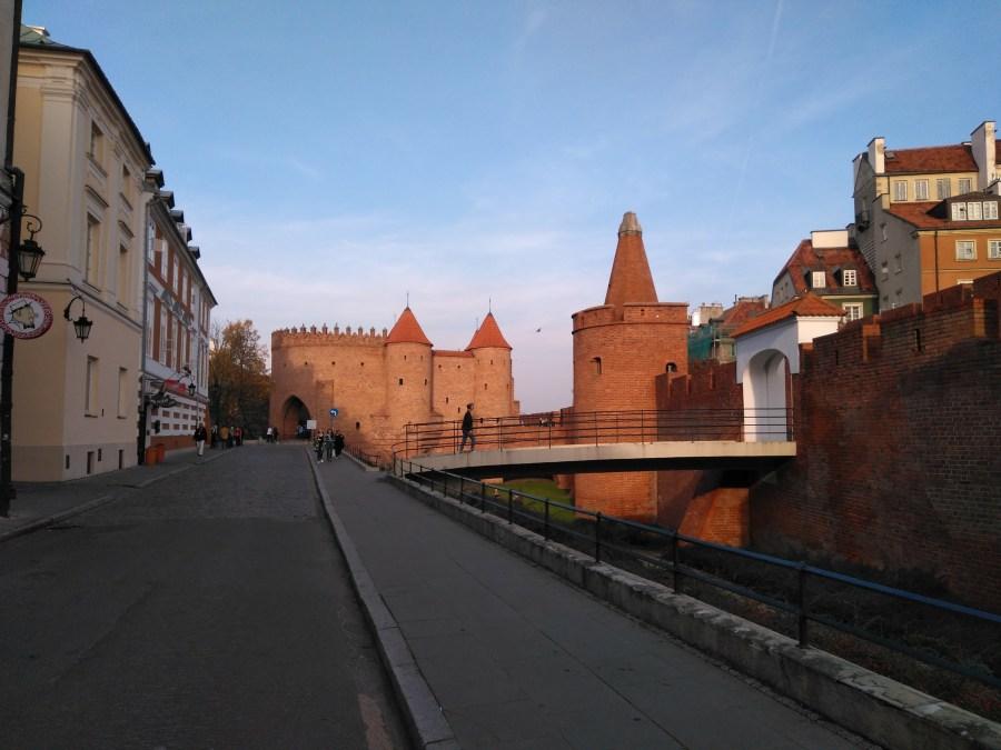 Qué ver en Varsovia. Muralla