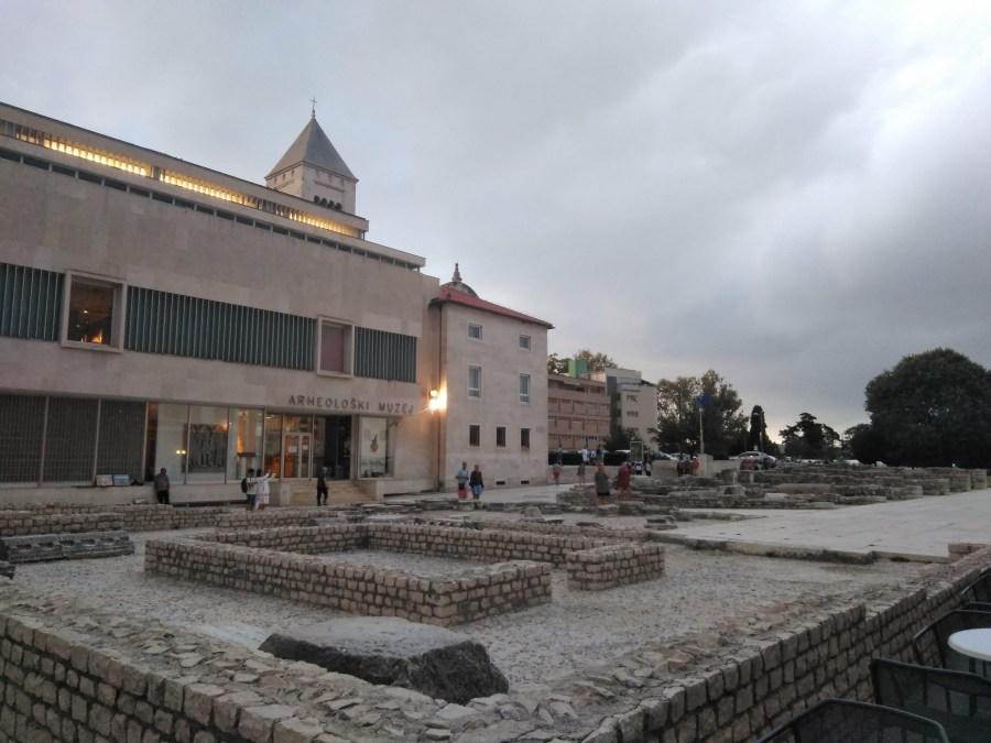 Qué ver en Zadar: Saludo al Sol, Órgano Marino. Foro Romano