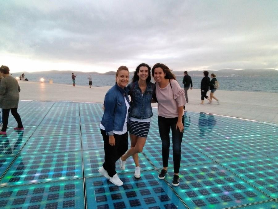 Un día en Zadar.Saludo al Sol.