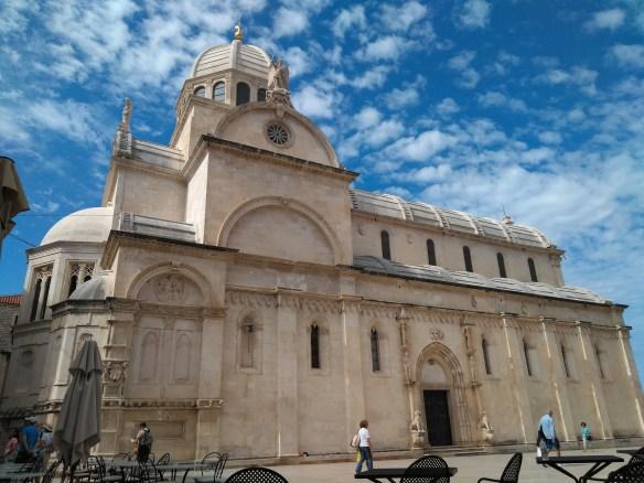 ¿Qué ver en Sibenik? ¿Qué ver en Trogir? Croacia.Catedral de Santiago de Sibenik.