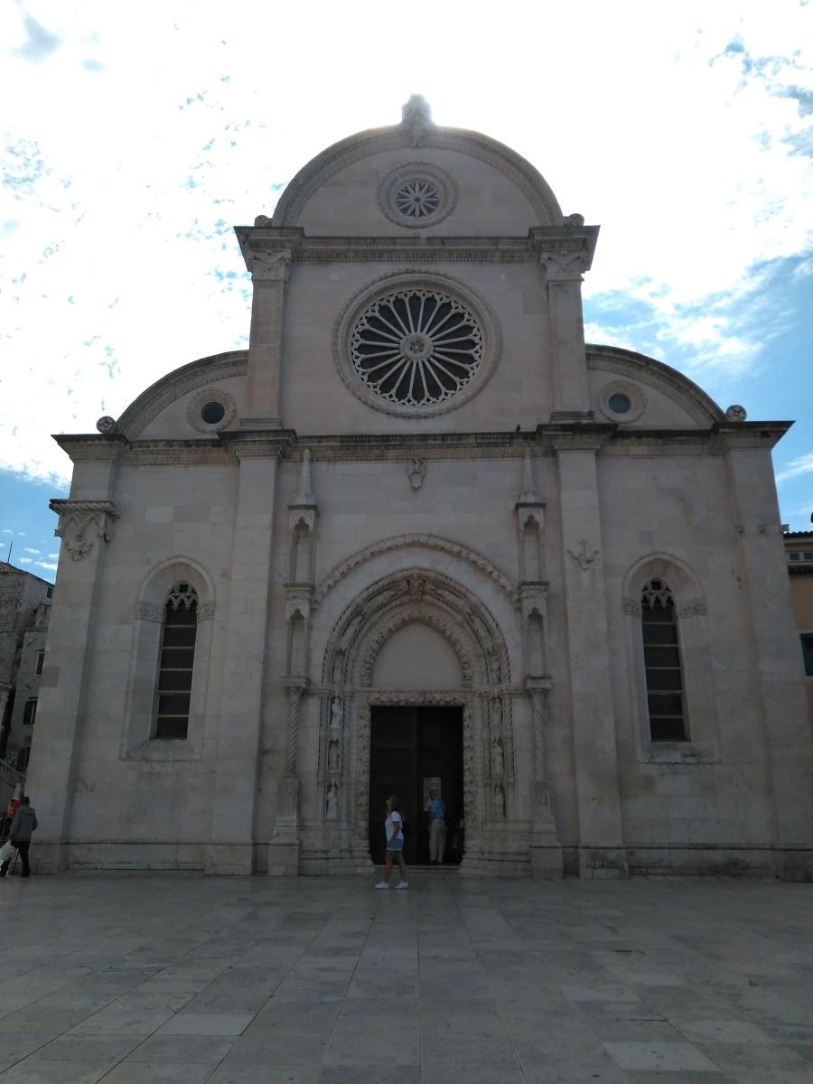 Catedral de Santiago de Sibenik. Croacia.