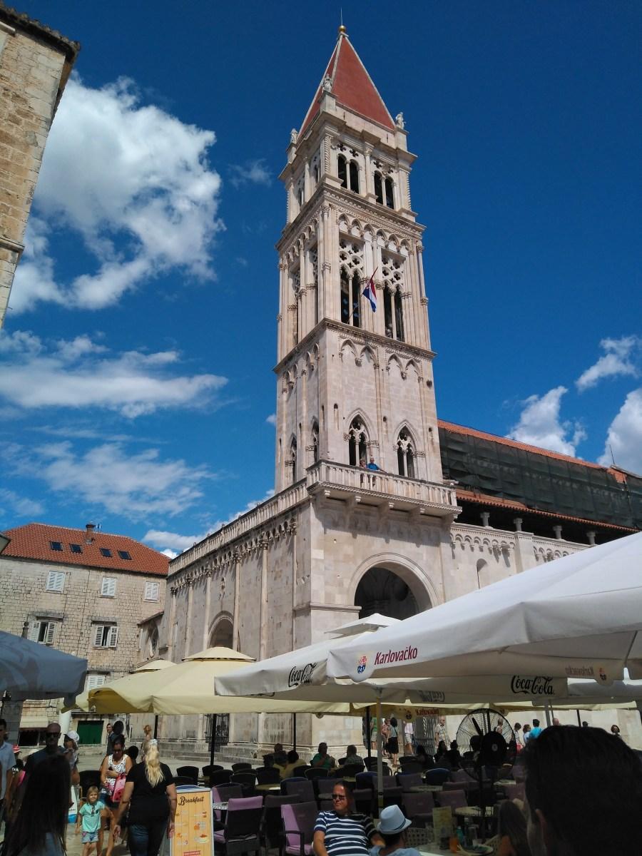 Sibenik y Trogir.Ciudad deTrogir. Croacia.